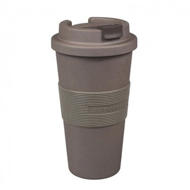 Koffiebeker to-go - 480ml - donkergrijs/bruin