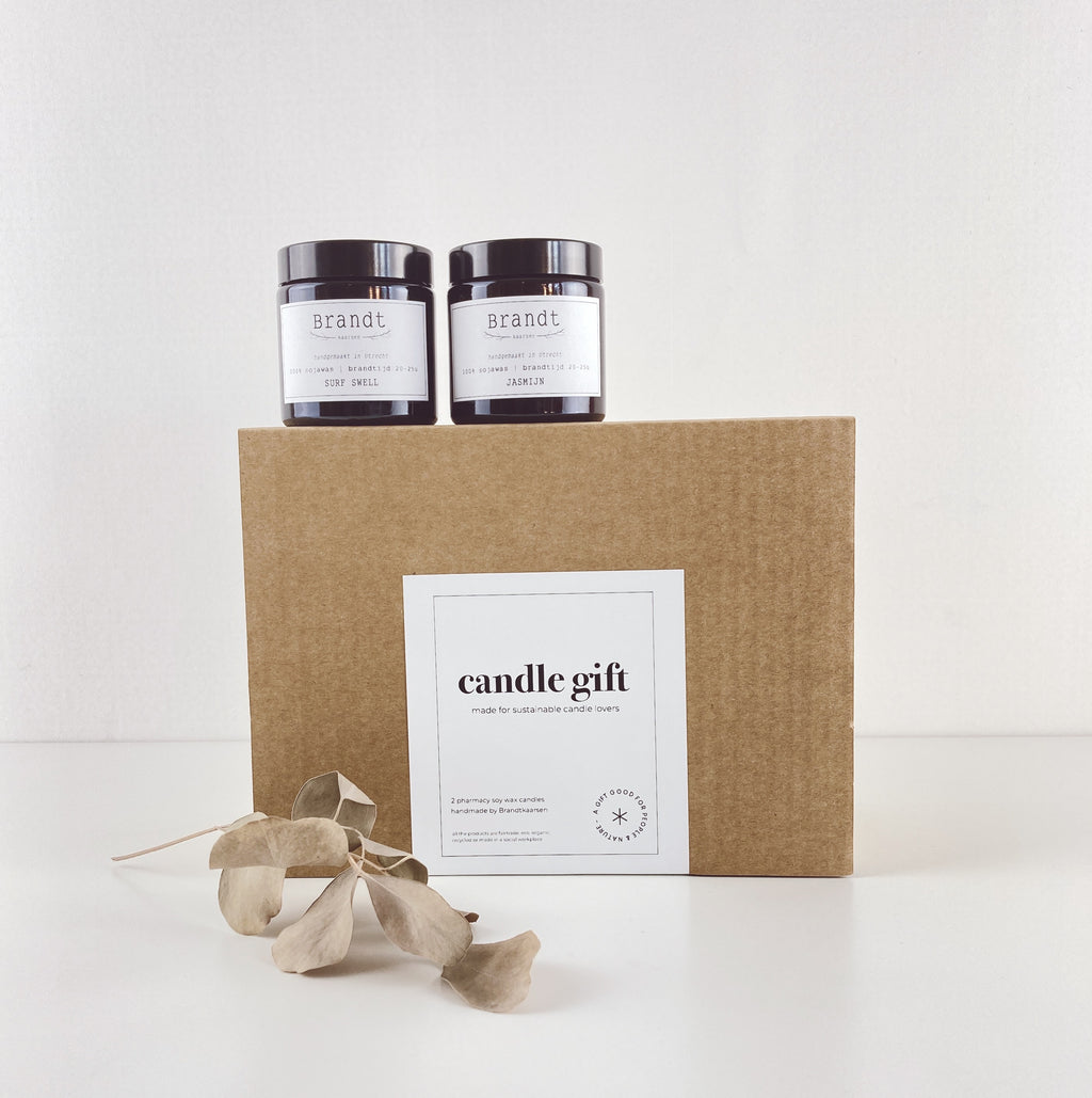 CANDLE GIFT made for sustainable candle lovers