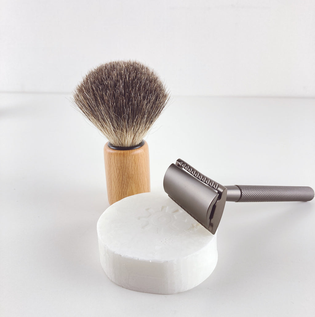 SHAVE KIT for sustainable men or woman