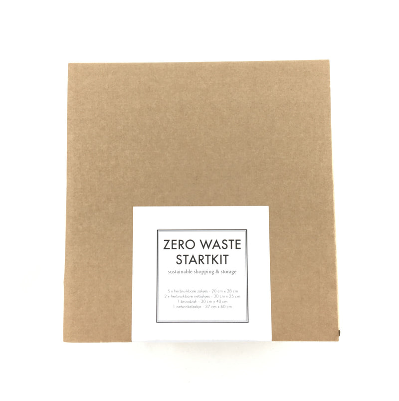 ZERO WASTE STARTKIT for sustainable shopping & storage