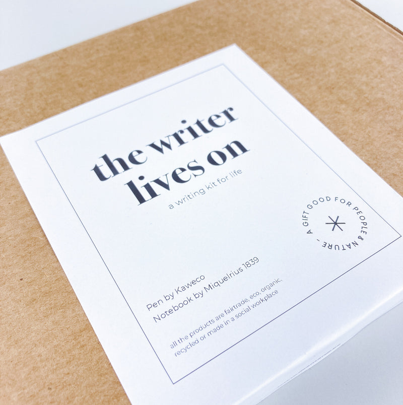 WRITER LIVES ON  a writing kit for life
