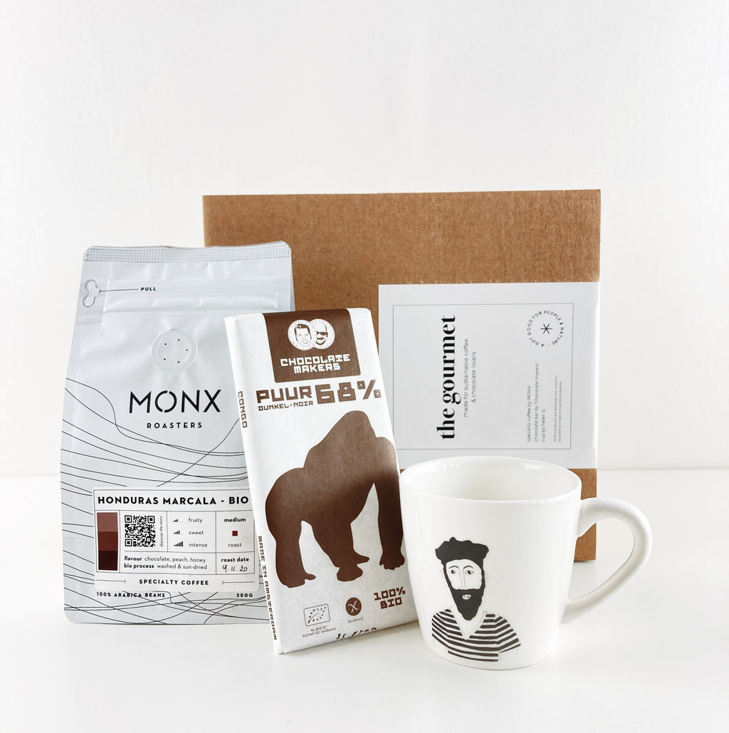 THE GOURMET made for sustainable coffee & chocolate lovers
