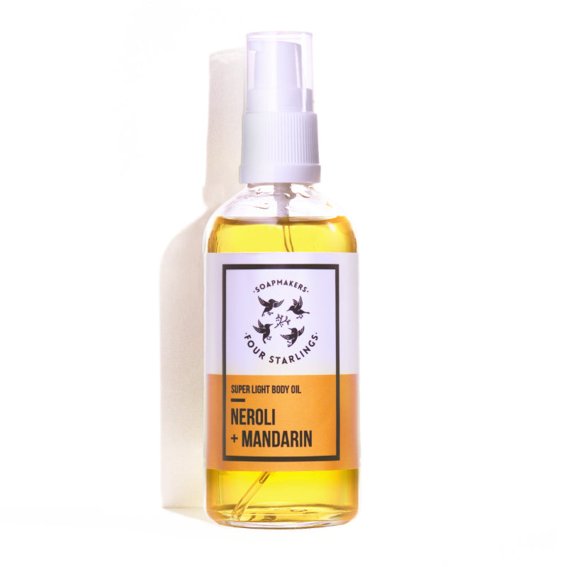 Super light body oil 'Mandarin & Neroli'