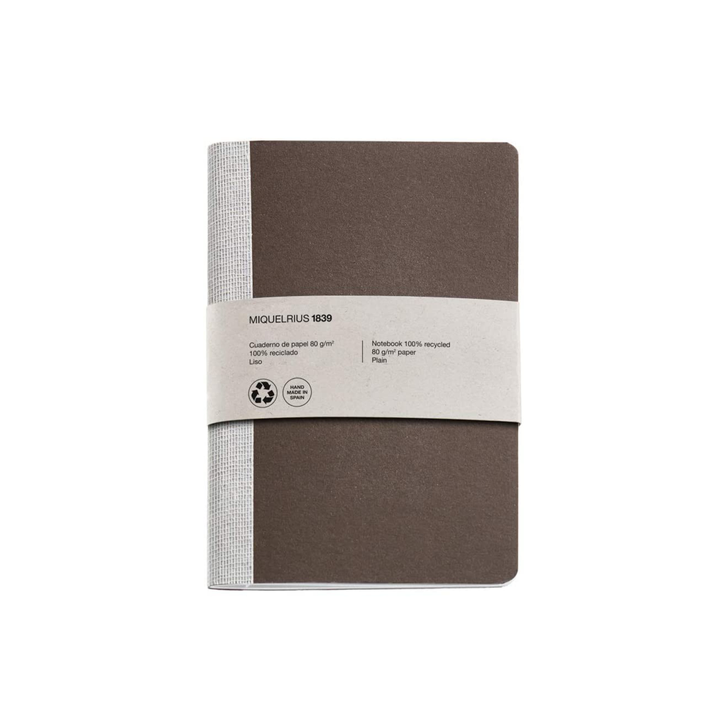 Recycled notebook 'Brune' -  A6 & A5