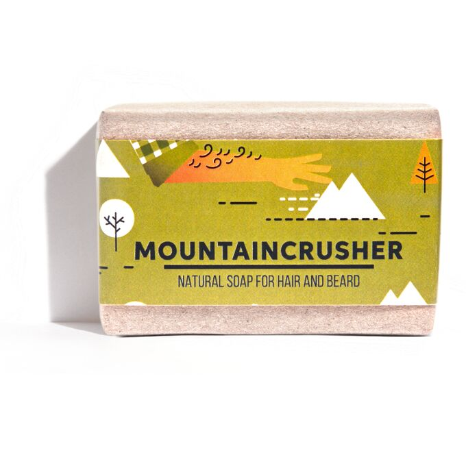 Mountaincrusher - men's soap for hair & beard