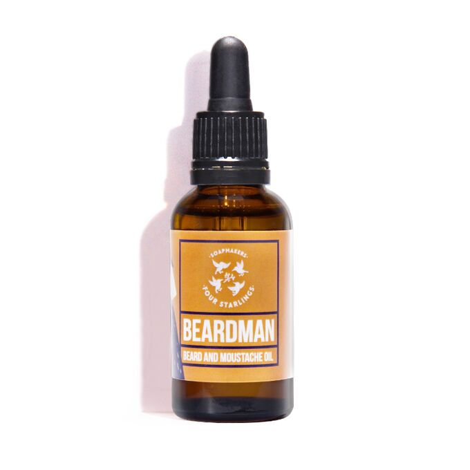 Beardman - beard & moustache oil