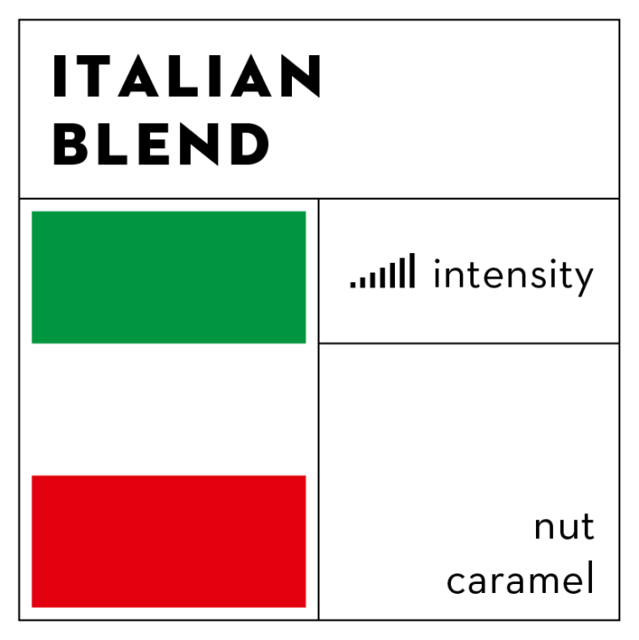 Specialty coffee 'Italian Blend' (bonen)