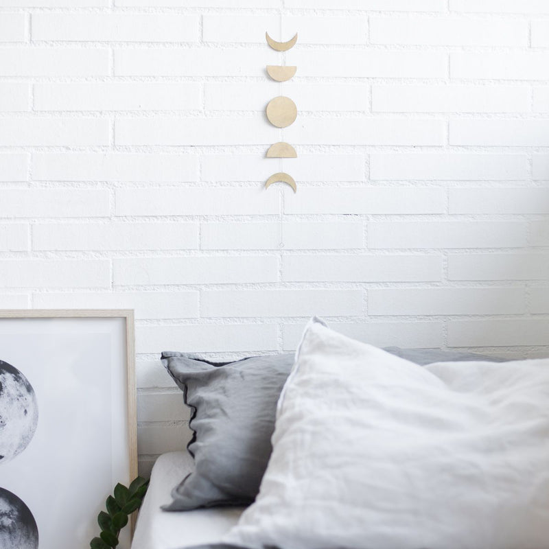 The moon phases - wall art