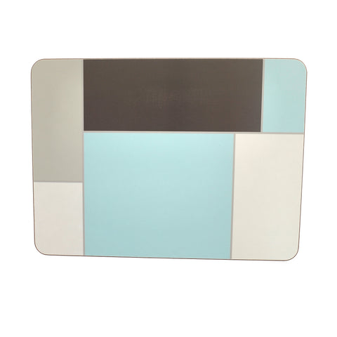 Ariel placemat set - evening blue