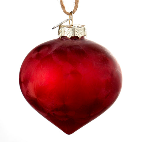 Pomegranate glass bauble