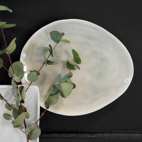 Amelie lunch plate – cement