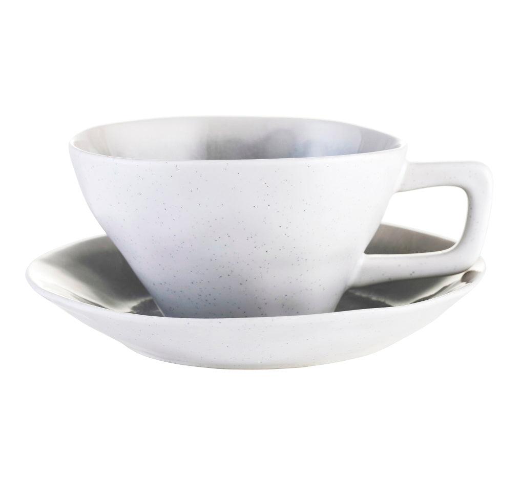 Amelie cup and saucer - cement