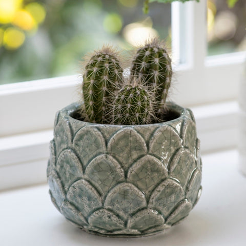 Artichoke-leaf pot