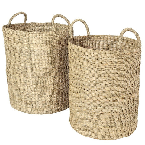 Seagrass baskets – set of two