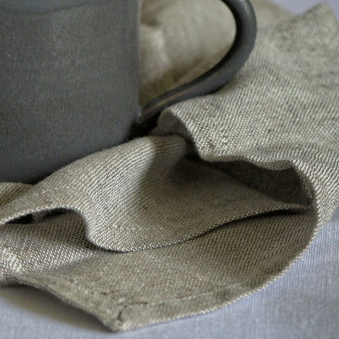 Table napkin - dark grey
