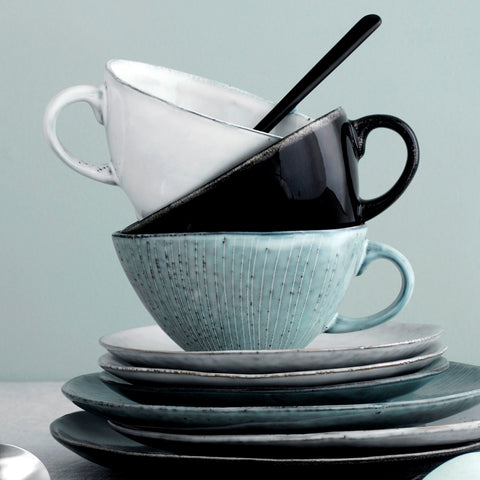 Nordic Sand Cup and Saucer