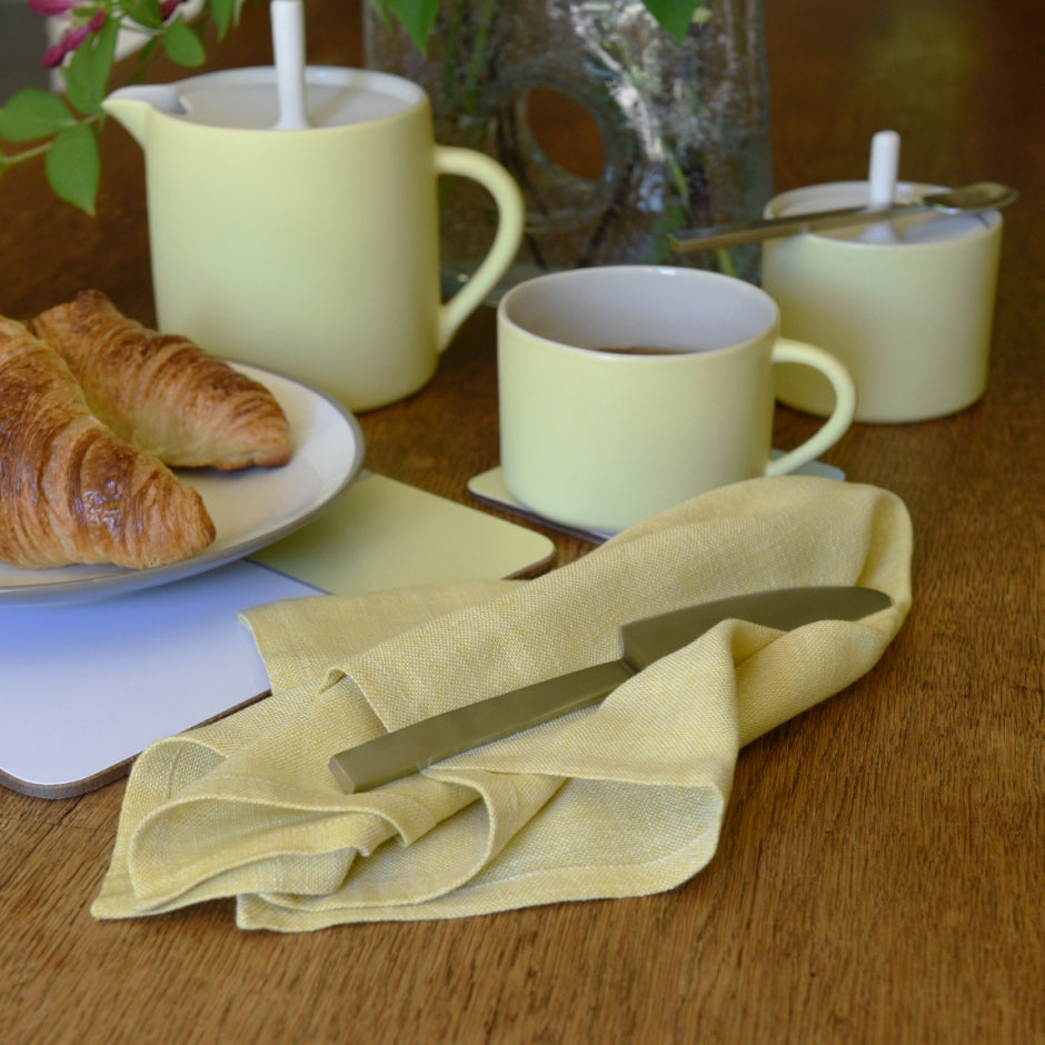 Table napkin - yellow