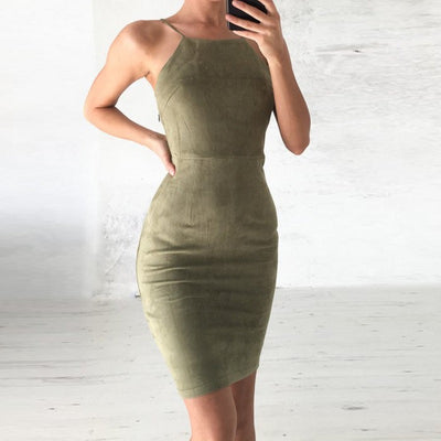 Carmen Hollow Out Dress