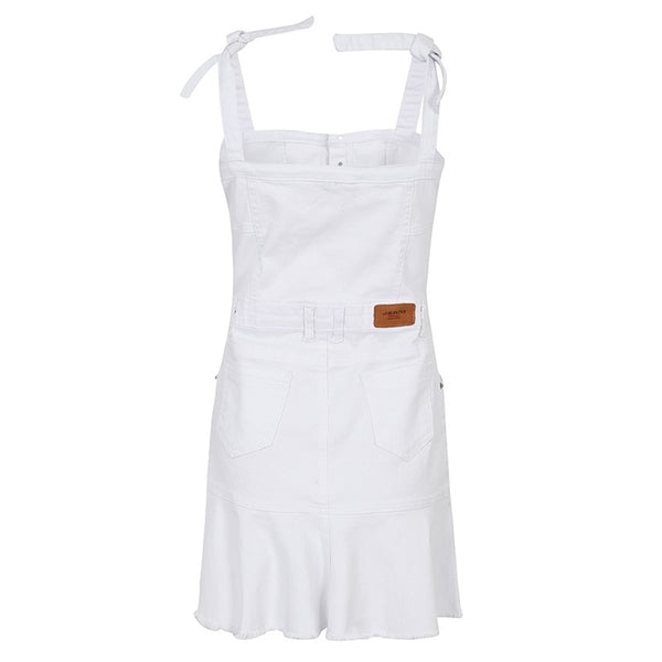 Celia White Denim Dress