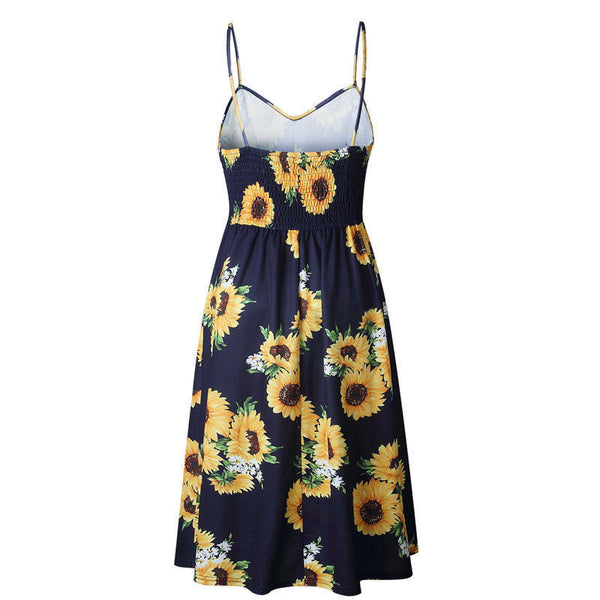 Sandra Sunflower Dress