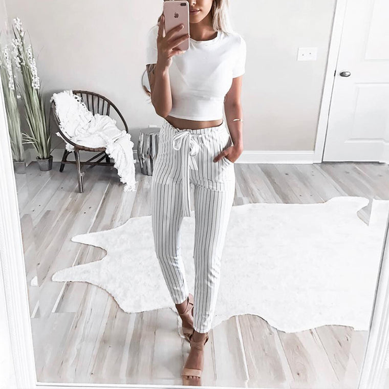 Aliyah Striped Pants