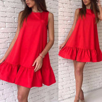 Florence Ruffle Dress