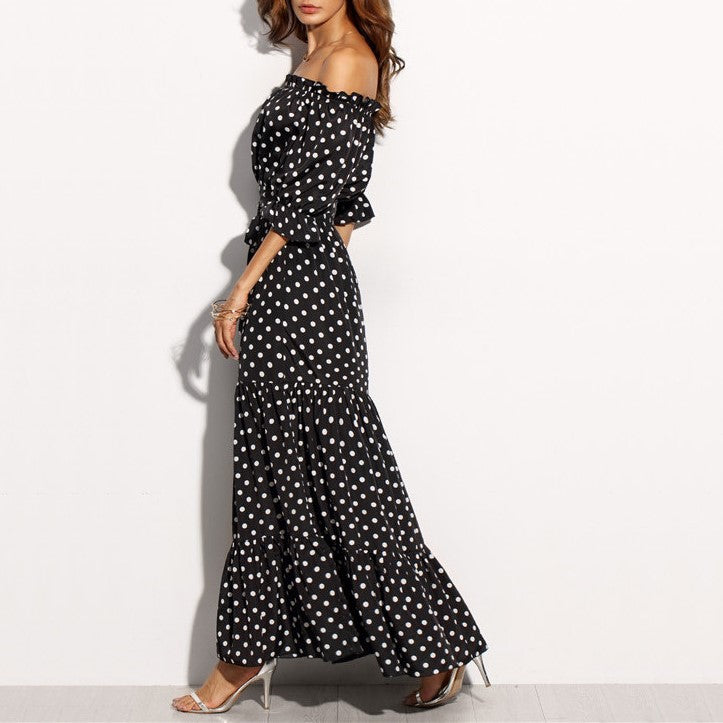 Alba Polka Dot Dress