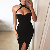 Gorgeous Halter Neck Dress