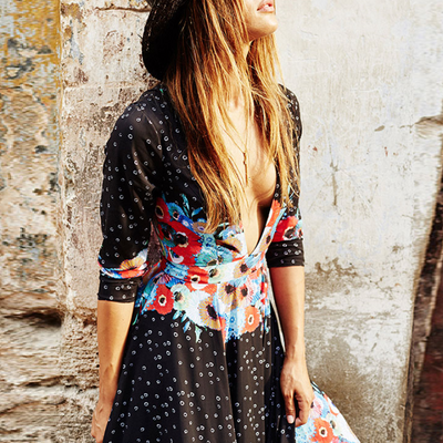 Claudine Boho Dress