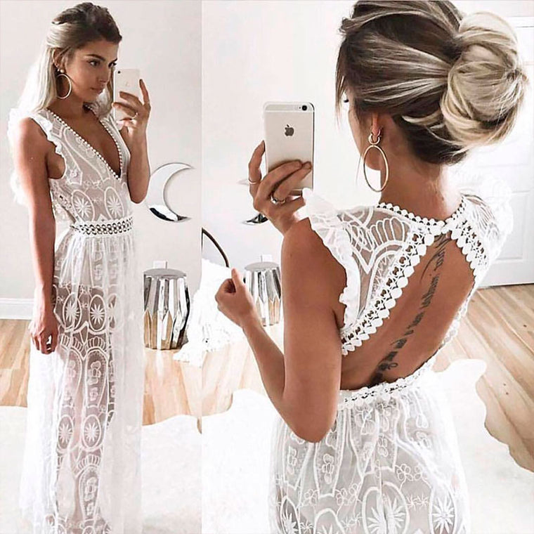 Ally Lace Summer Dress