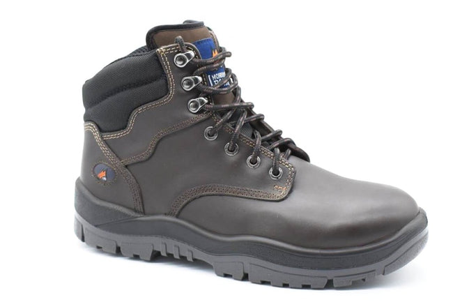 e88f39ed4c1398 Lace Up Non Safety Boot - Claret - bagsnboots - Converse - Rollie -  Birkenstock -