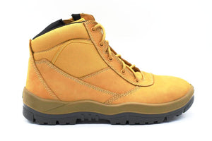 ZipSided Safety Boot - Wheat - bagsnboots - Converse - Rollie - Birkenstock - Shoes - Footwear - Wodonga - Corowa