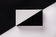 Vertige Black and White Acrylic Evening Clutch
