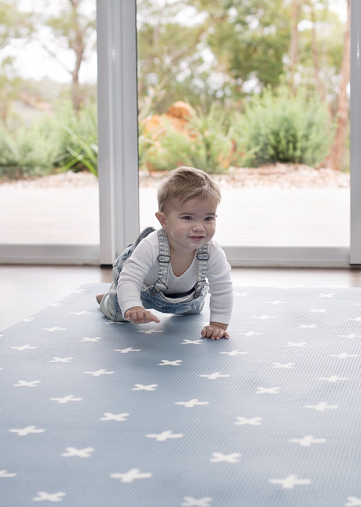 mats for learning to roll, crawl and sit. Protect babys head from the hard floors with a squishy padded play mat!