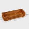 Image of Wooden Flower Bed Planter - Perfect For Succulents!