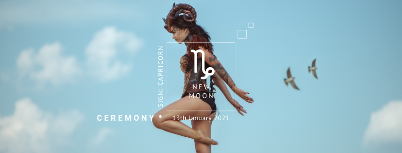 New Moon Ceremony: January 13th 2021