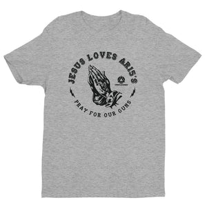 Jesus Loves Guns Tee