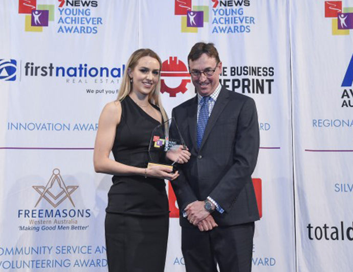 Our Founder, Iris Smit Wins The Western Australian Young Achiever Of The Year