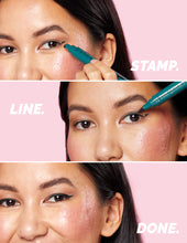 Load image into Gallery viewer, Eyeliner Stamp / 4 Sizes - Green Envy