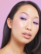 Load image into Gallery viewer, Priscilla wears Quick Lash Adhesive in Clear with our To The Point lashes
