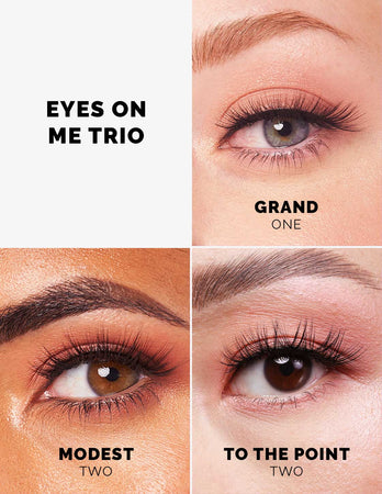 The Eyes On Me Lash Trio