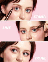 Load image into Gallery viewer, Eyeliner Stamp / 4 Sizes - Hot Fudge
