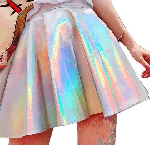 DREAMIN' OF HOLO SKIRT