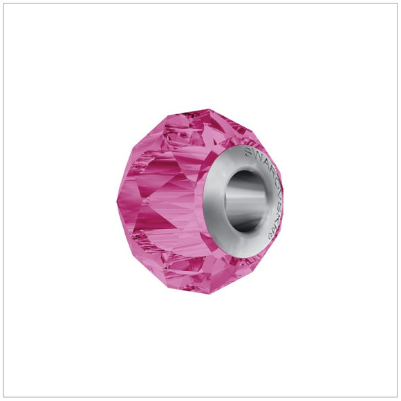 Swarovski Element Becharmed Briolette - Charm Rose