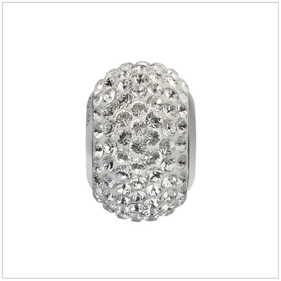 Swarovski Element Becharmed Pave Charm - Crystal