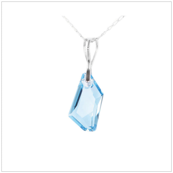 Swarovski Element De-Art Necklace - Aquamarine - K. Crystals Online