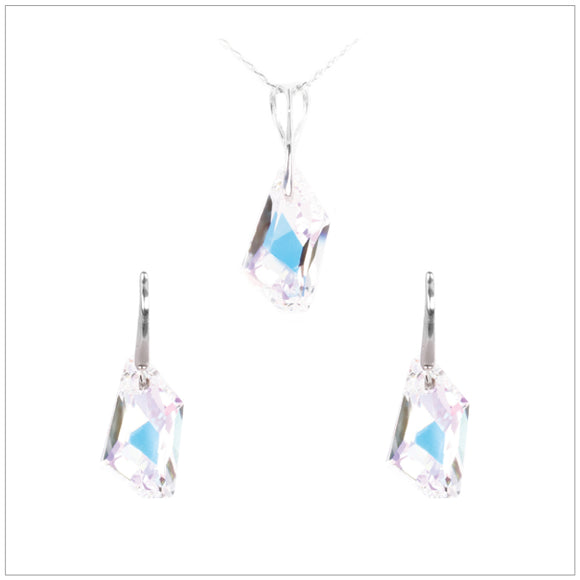 Swarovski Element De-Art Set - Aurore Boreale - swarovski jewellery south africa kcrystals