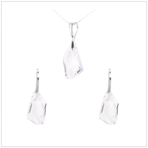 Swarovski Element De-Art Set - Crystal - swarovski jewellery south africa kcrystals