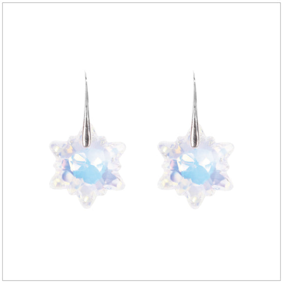 Edelweiss Earrings Aurore Boreale - swarovski jewellery south africa kcrystals