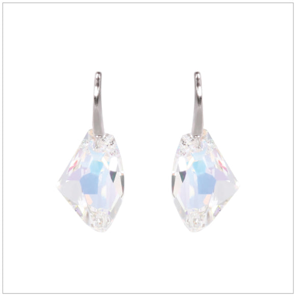 Swarovski Element Galactic Earrings - Aurore Boreale